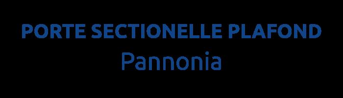 LA PORTE SECTIONNELLE PLAFOND PANNONIA