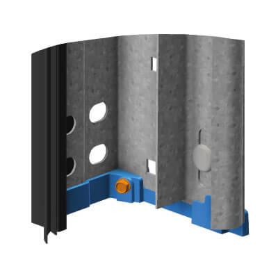 Guttomat Torsystem Pannonia Stahltor mit Zugfedernsystem